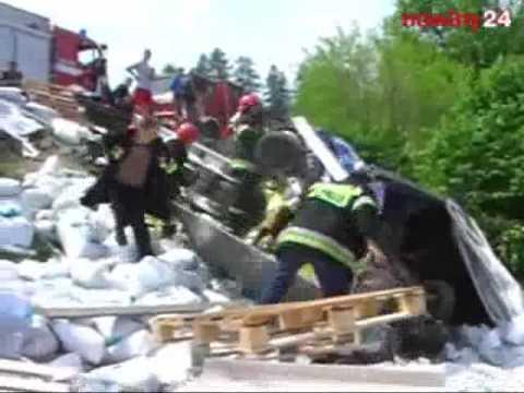 Śmiertelny wypadek w Krzywczy koło Przemyśla