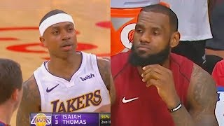 Isaiah Thomas EXPOSES LEBRON JAMES & THE CAVALIERS! Cavaliers vs Lakers