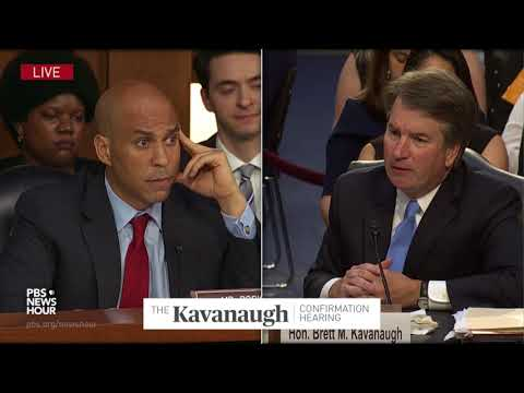 Xxx Mp4 Sen Booker Asks Kavanaugh His Opinion On Gay Marriage And LGBT Rights 3gp Sex