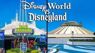 Top Disney World Rides vs Disneyland Rides Pt 2 - Tomorrowland