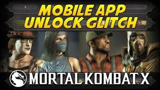 Mortal Kombat X: How to Get All Mobile App Unlocks! (No App Needed)