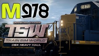 Moleman Plays | Train Sim World: CSX Heavy Haul - Stunning