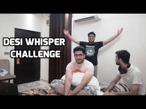 Xxx Mp4 DESI WHISPER CHALLENGE Ft Hybrid Gamer And Malik Hassam 3gp Sex