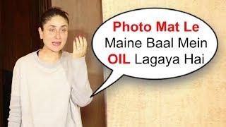 Kareena Kapoor Without Makeup At Manish Malhotra House