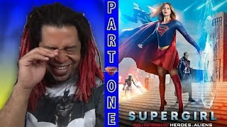 SUPERGIRL | SEASON 2 EPISODE 8 | CW CROSSOVER Heroes v Aliens: (PART ONE) - REACTION (HERE WE GO!!)