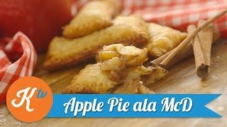 Resep Apple Pie ala McDonalds (Apple Pie ala McDonalds Recipe) | YUDA BUSTARA