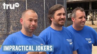 Impractical Jokers - Sal Delivers a Baby Cow