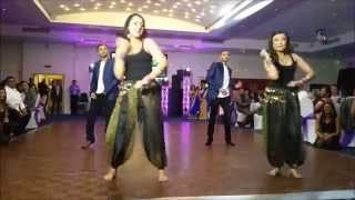 Surprise dance by the grooms family at my sisters wedding reception party...