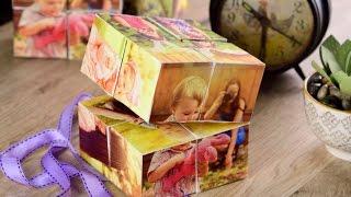 Manualidad | Cómo Hacer un Cubo Mágico de Fotos