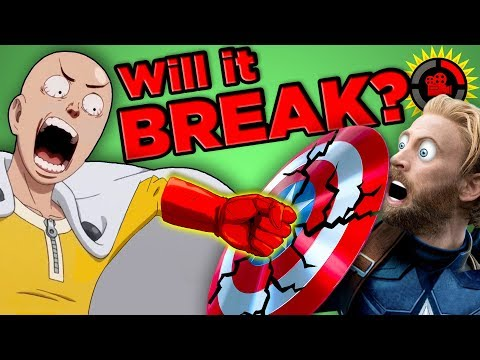 Film Theory Will Marvel BREAK in One Punch Infinity War Vibranium vs. One Punch Man