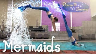 Mermaids Fly Over Mystery Waters!