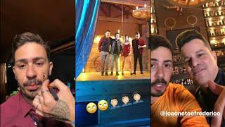 Carlinhos Maia grava clipe com João Neto e Frederico