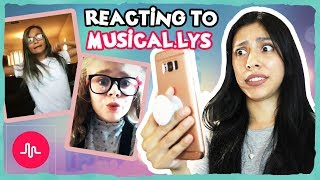 REACTING TO MY SUBSCRIBERS MUSICAL.LYS! ( Part 2 )