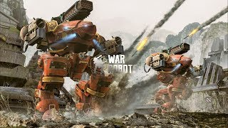War Robots [3.3] Best Robot - Inquisitor (Descend)
