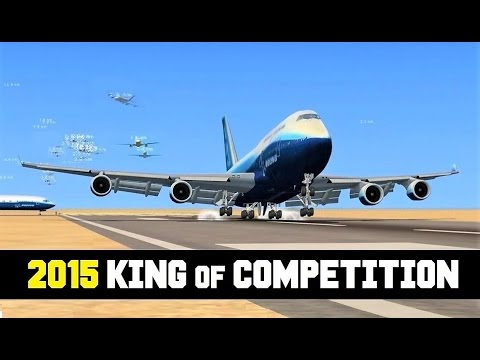 FSX Multiplayer: KING of Landing Competition 2015 (Top 10 Steam Edition)