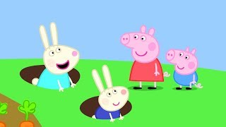 Peppa Pig Français | 3 Épisodes | La Maison de Rebecca Rabbit | Dessin Animé Pour Enfant #PPFR2018