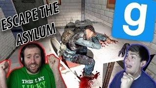 DEAD MEN AND SPOOKY MAGIC? | GMod Horror Maps: Escape The Asylum