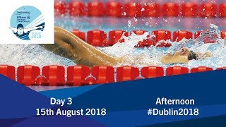 Day 3 Evening | 2018 World Para Swimming Allianz European Championships