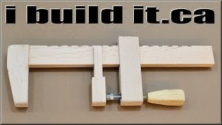 How To Make A Wooden Bar Clamp