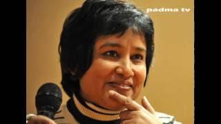 Toslima Nasrin beside Dr. Zakir Naik crisis   Full story   padma tv