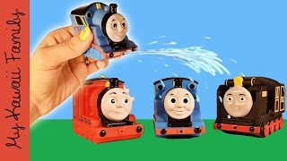 Thomas and Friends Water Squirting TOYS! My Kawaii Family