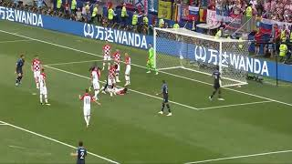 Mario Mandzukic (Own Goal) France Vs Croatia (2-1) HD