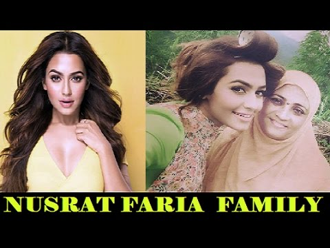 Nusrat Faria Family | নুসরত ফারিয়ার পরিবার | Nusraat Faria Mazhar with her Family