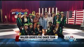 Walden Grove dance team to appear on America