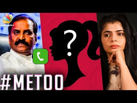 Xxx Mp4 Audio Proof For Vairamuthu S Sexual Harrasment Chinmayi Accusations Me Too Movement 3gp Sex