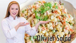 Olivier Russian Potato Salad (Как Приготовить Салат Оливье)