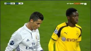 The first time Ousmane Dembele met Cristiano Ronaldo