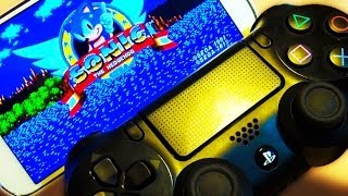 PS4 Controller + Android Smartphone
