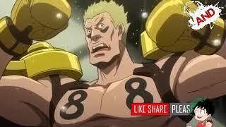 Megalo Box  Junk Dog vs Ghetto Hachiya