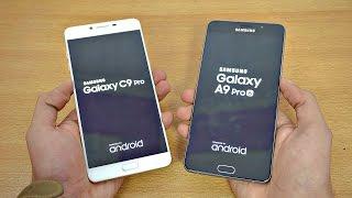 Samsung Galaxy C9 Pro vs Galaxy A9 Pro - Speed Test! (4K)