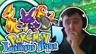 NEW & AMAZING GAME!? Pokémon Lustrous Aqua - Pokemon Fan Game - GAMEPLAY and Download