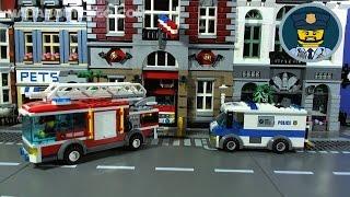 LEGO CITY POLICE Money Transport Mini Movie