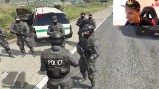 Grand Theft Auto V Police mod - SWAT U VOJNOJ BAZI ???