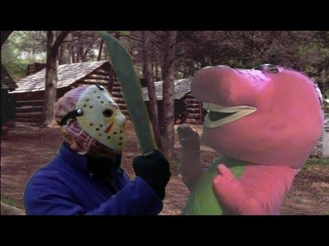 Jason Vs Barney The Dinosaur