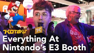 Everything At Nintendo E3 2018 Booth With Tim Rogers