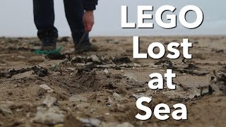 LEGO lost at sea - Cornwall, England
