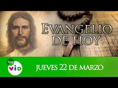 Xxx Mp4 El Evangelio De Hoy Jueves 22 De Marzo De 2018 Lectio Divina Tele VID 3gp Sex
