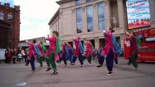 Namaste Russia. Bollywood flashmob in St-Petersburg by SATRANGI, may 2017