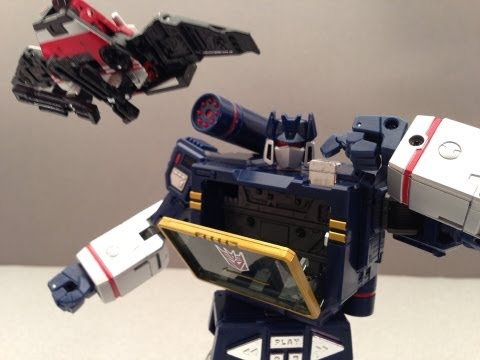 MASTERPIECE SOUNDWAVE TAKARA MP-13 VIDEO TOY REVIEW