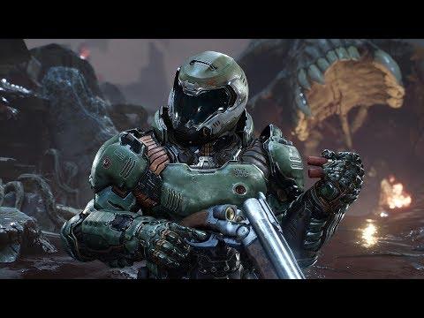 DOOM 2017 PS4 Pro Multiplayer Gameplay