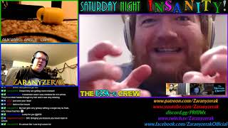 LICE, TROLLS AND PORN, OH MY!  Saturday Night InSaNiTy!  April 7, 2018