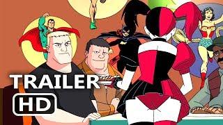 Batman And Harley Quinn Official Trailer (2017) Animation, Superhero New Movie HD