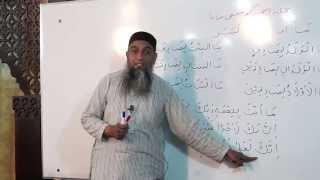 Lecture 38 - Quran Arabic As Easy as Urdu By Aamir Sohail
