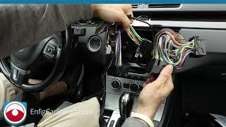 Radio installation 2013-2015 VW CC with Dynaudio and Backup Camera