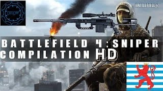 Battlefield 4: Sniper Compilation HD+[Long Range, Qiuck Scope...] (SRR,CS5 and M98B)