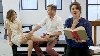 Watch Elena Shaddow and Lesli Margherita in Rehearsal for Guys and Dolls